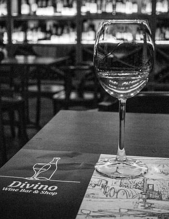 Tbilisi, Georgia: Wine Glass at Divino