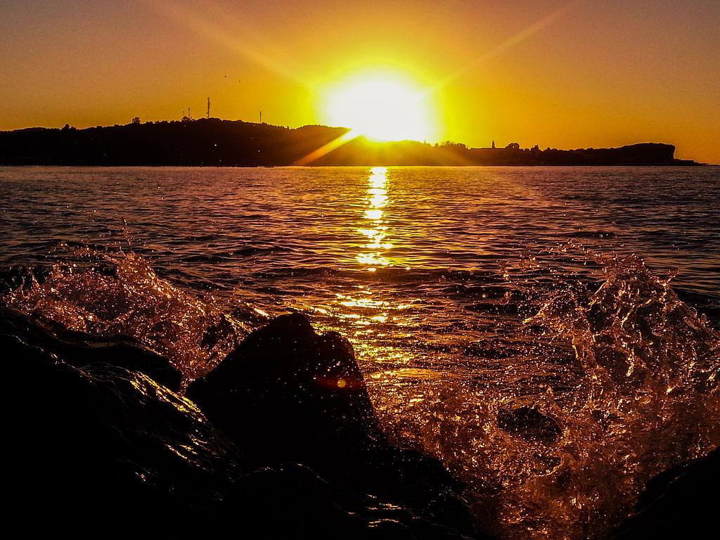 Sunset at Corfu Island, Greece
