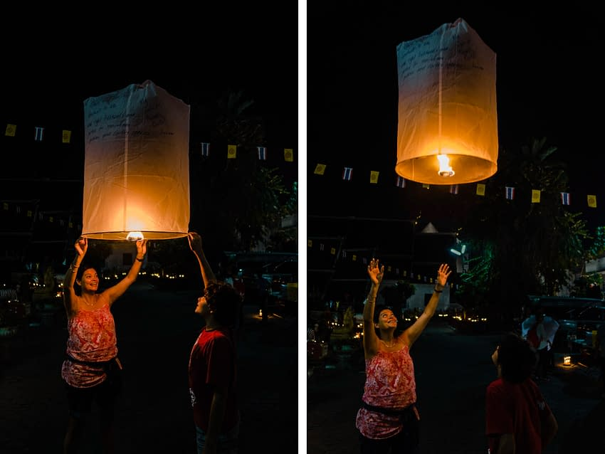 Chiang Mai, Thailand: New Year's Eve