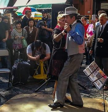 Tango Dance at the San Telmo Sunday Fair