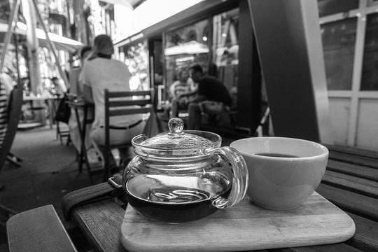 Bucharest, Romania: Tea at Cafe Origo